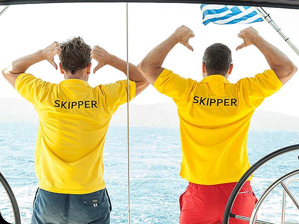 Unsere Skipper halten Euch bei Laune | sailwithus