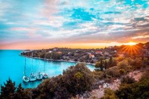 Der Sonnenuntergang über der Adria ist ein Traum | sailwithus