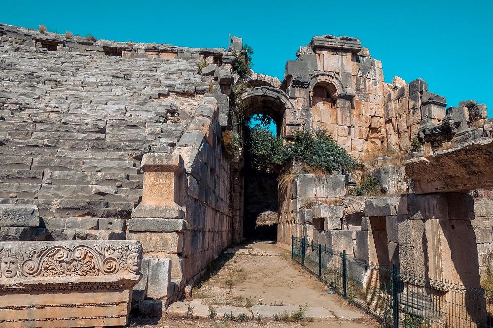 Kulturelle archäologische Stätten entdecken in der Türkei