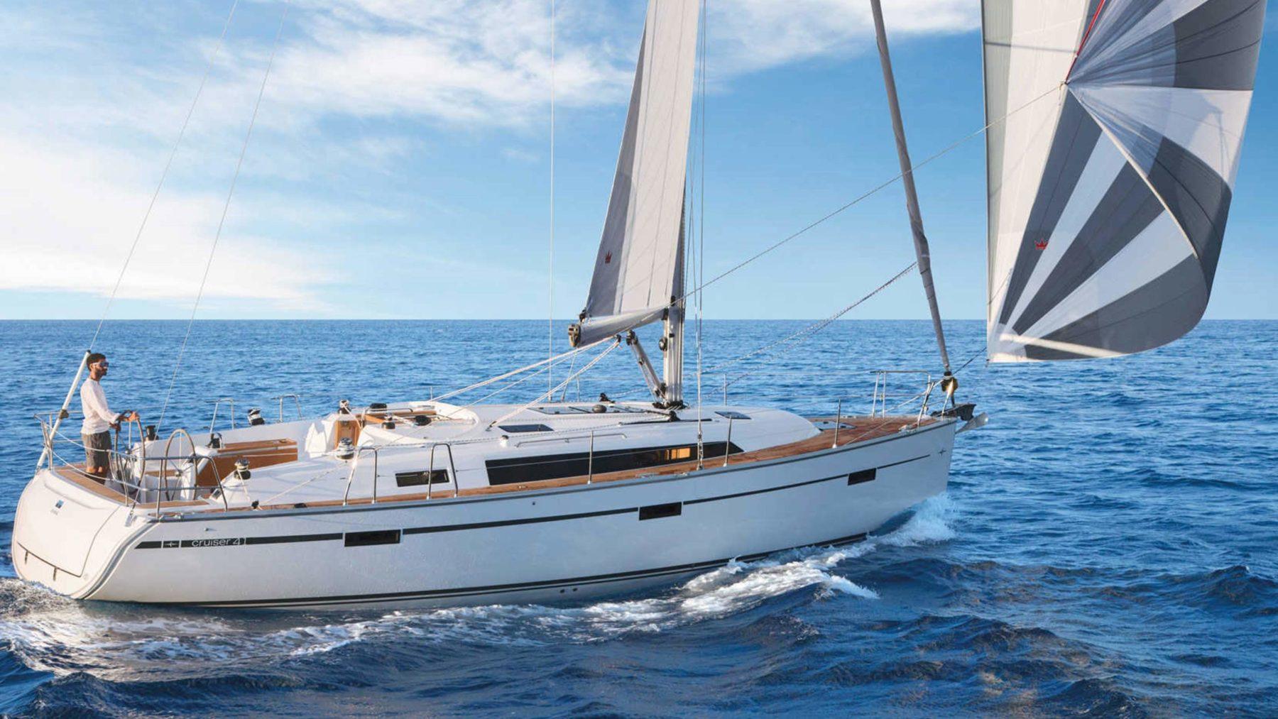Moderne 3 Kabinenyacht für Segelreisen