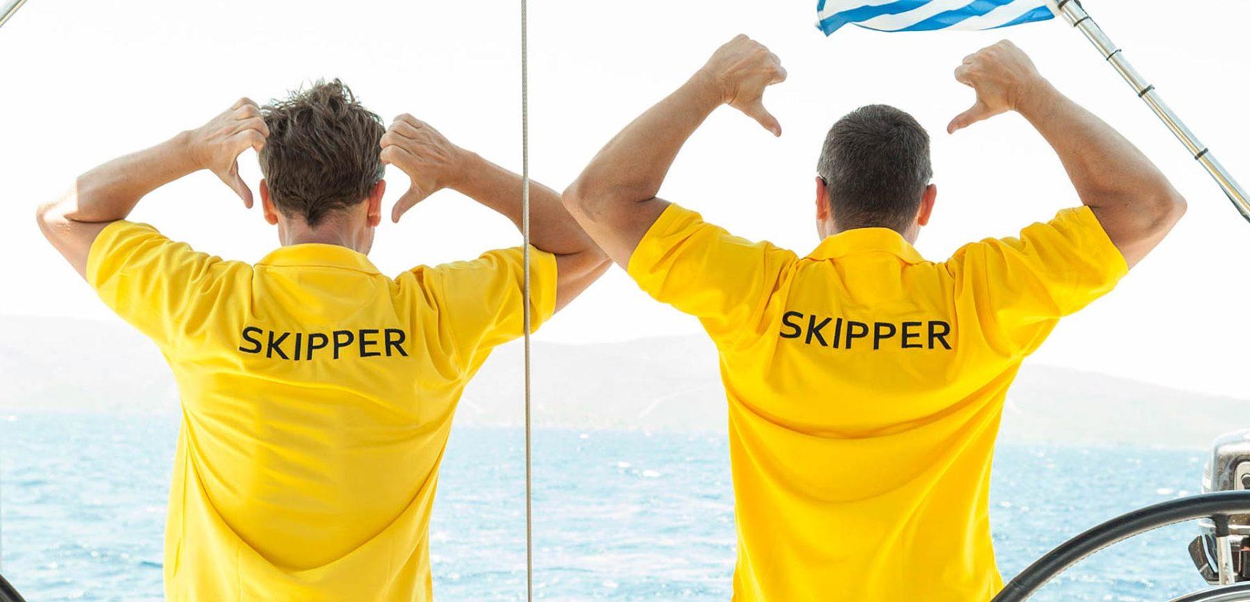 Mitsegeln auf Segelyacht mit Skipper