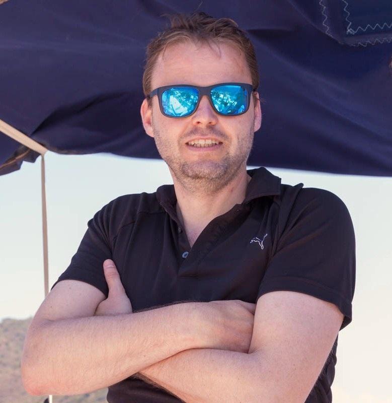 Tobias ist nicht nur ein super Skipper sondern auch eine Frohnatur, dazu ist er im sailwithus Team unersetzlich