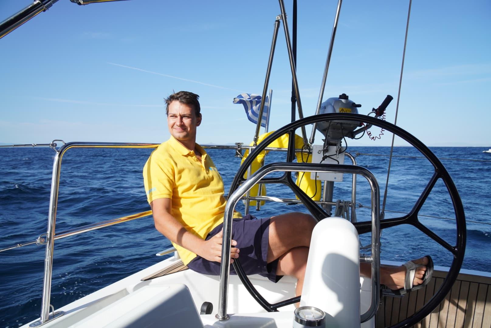 Mit Skipper im Mittelmeer segeln