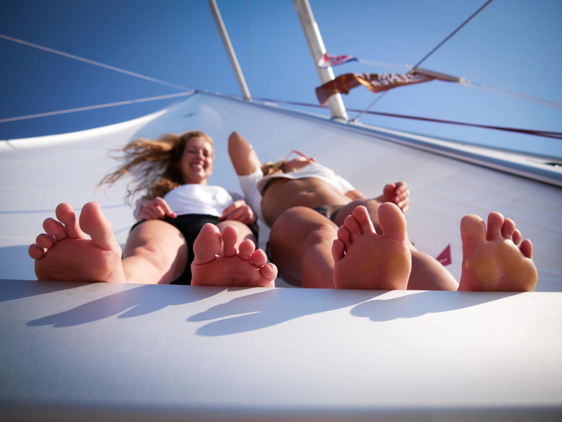 Ein Urlaub unter Segeln ist ein Traumurlaub | sailwithus