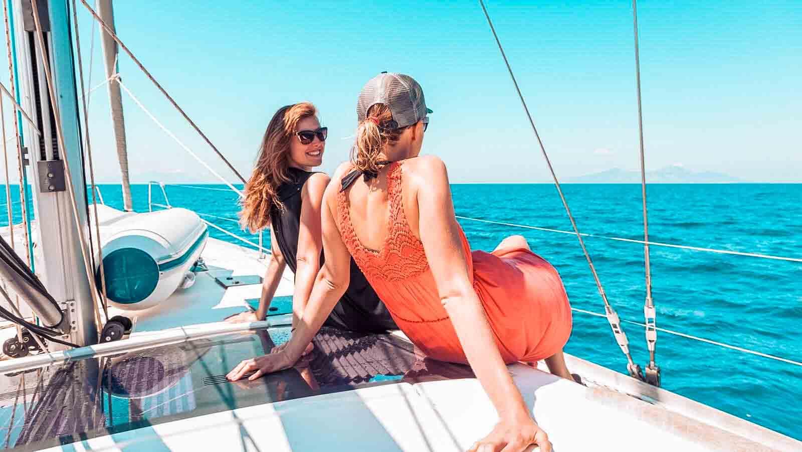 Der beste Ausblick aufs Meer überhaupt l sailwithus