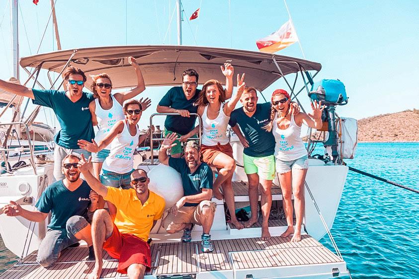 Neue Leute kennenlernen leicht gemacht auf Deiner Segelreise | sailwithus