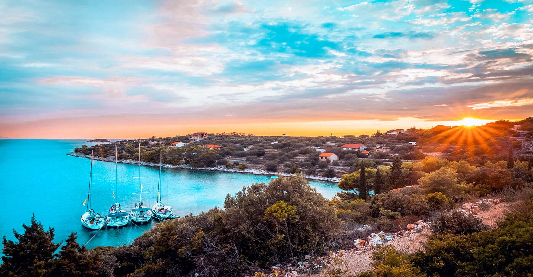 Segelreise in Kroatien