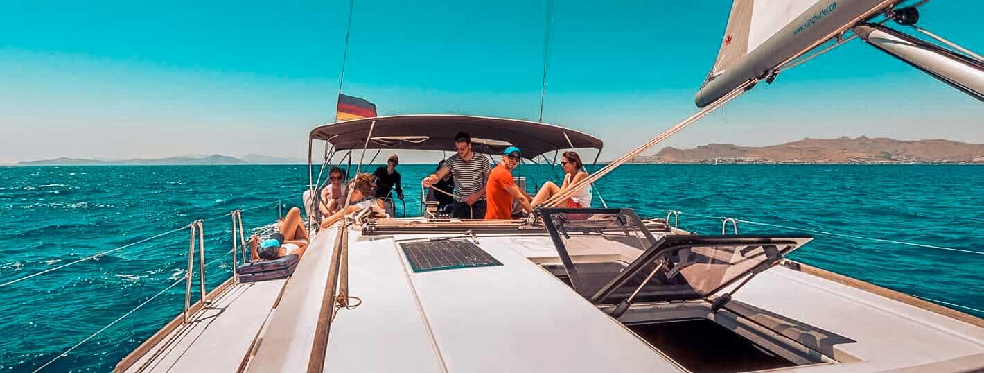 Alle packen mit an und haben die tollste Urlaubswoche überhaupt l sailwithus