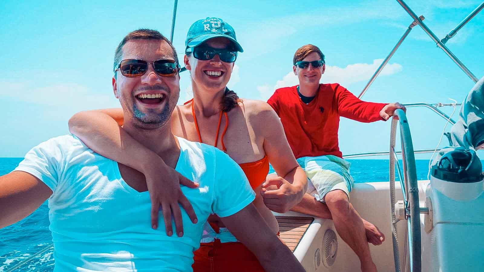 Findet Gleichgesinnte und neue Freunde auf deinem Segelurlaub | sailwithus
