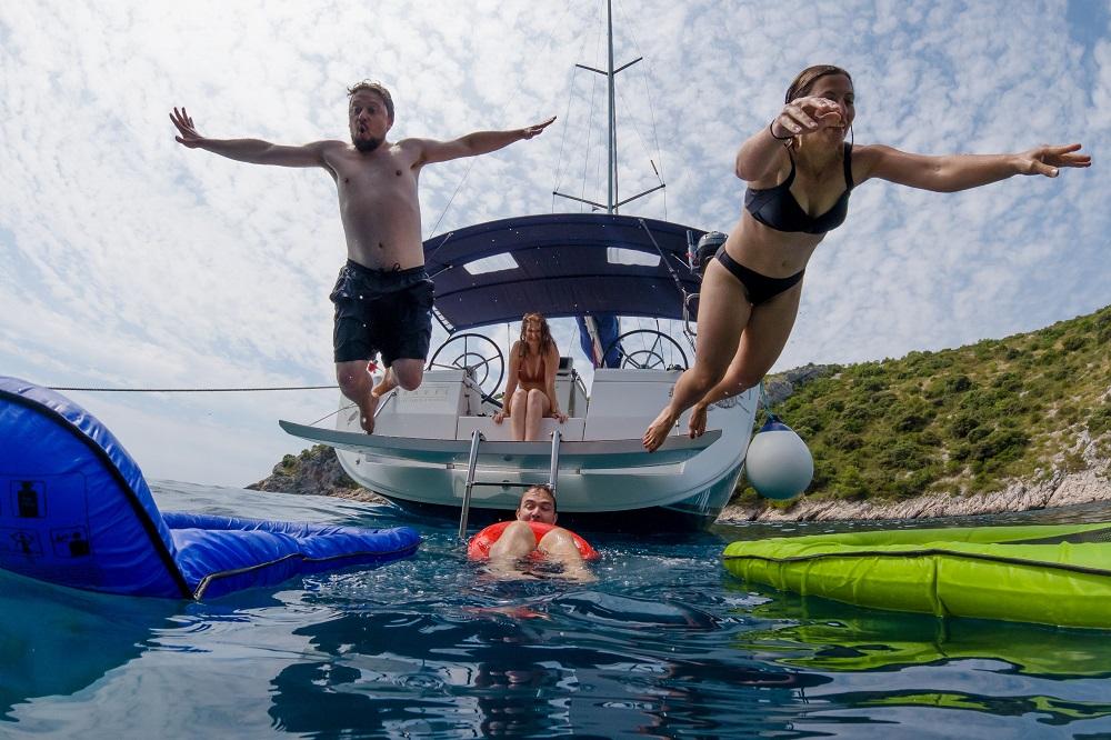Wasserspaß und Planschen garantiert l sailwithus