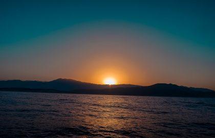 Mitsegeln im Sonnenuntergang Türkei