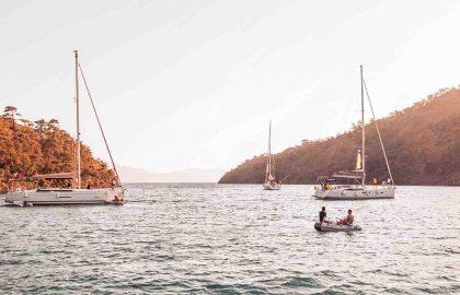 Segeln im türkischen Mittelmeer