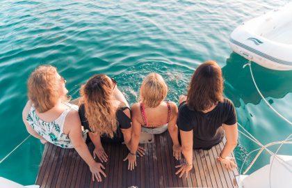 Crewleben, sailwithuslife an Bord, Freundschaft und das Wetter genießen auf dem Segeltörn