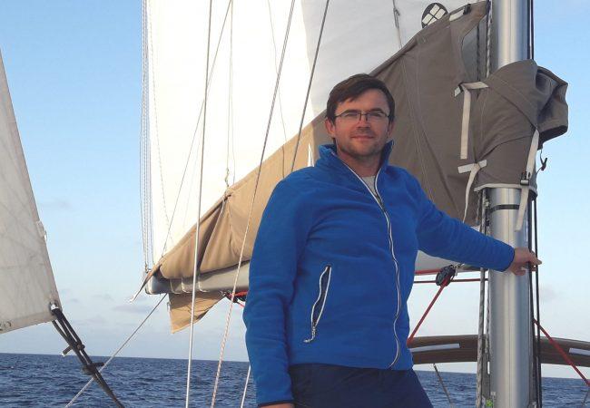 Skipper Pawel. sailwithus Skipper